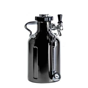 GrowlerWerks uKeg ™ 64 czarny chrom - 1,9 l