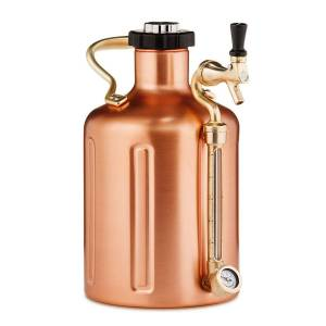 GrowlerWerks uKeg™ 128 miedź - 3.8 l