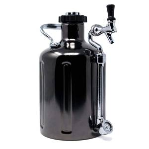 GrowlerWerks uKeg™ 128 czarny chrom - 3.8 l